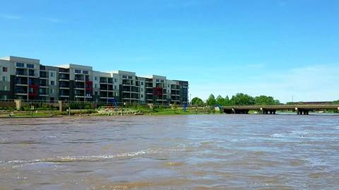City of Wichita closes flooded Arkansas River as Riverfest starts Friday